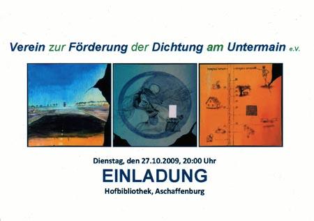 27.10.2009 Heimat Ferne - Ferne Heimat